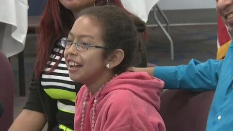 Con éxito se realizó el trasplante de hígado a una niña de 11 años en el...
