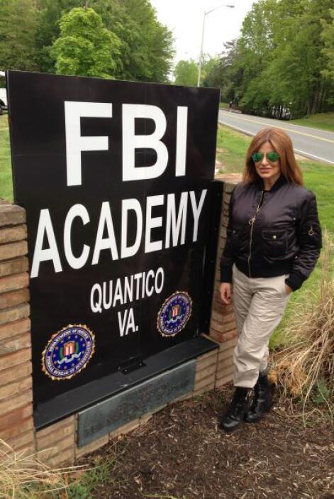 Paola Gutiérrez resultó una intrépida reportera y fue a recibir entrenam...