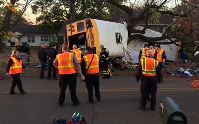 En video: seis muertos y múltiples heridos en accidente de autobús escol...