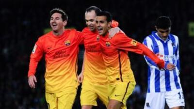 Iniesta considera que el Barcelona es mejor con Lionel Messi.