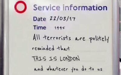 El mensaje que se hizo viral en redes unas horas después del aten...