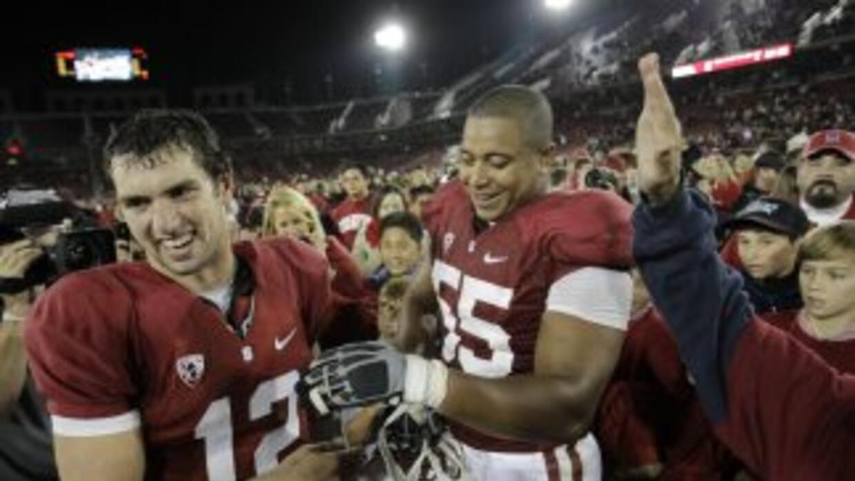 Andrew Luck y Jonathan Martin son amigos cercanos desde la universidad (...