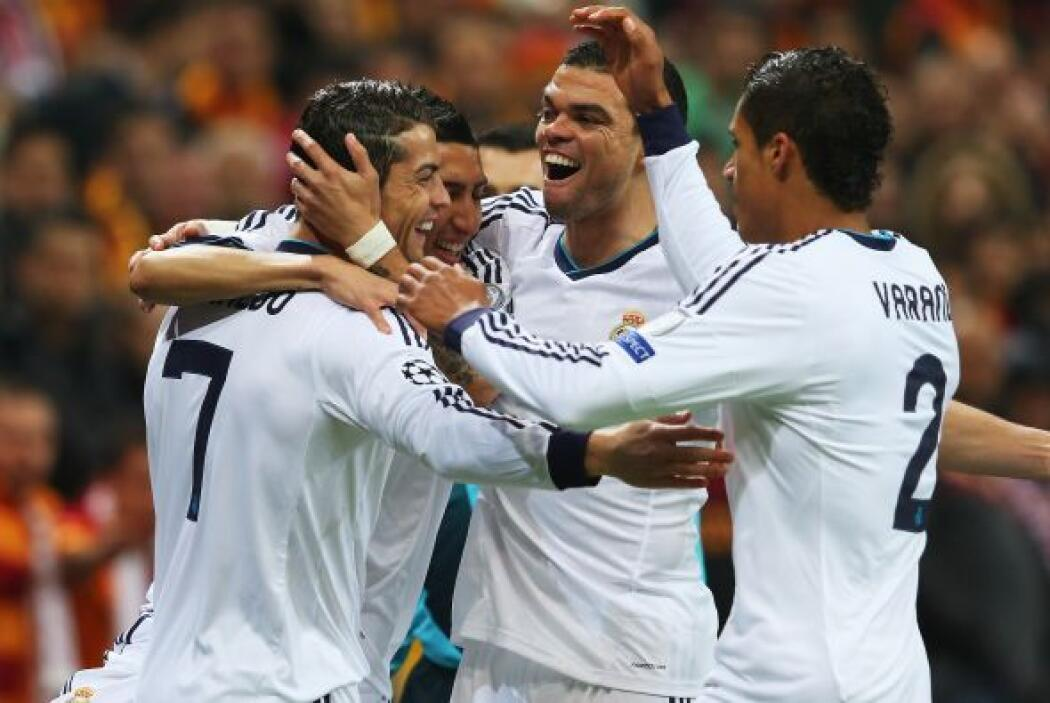 Fue el gol 49 de Cristiano en Champions.