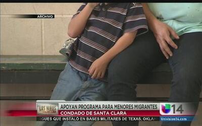 Apoyan programa para menores migrantes