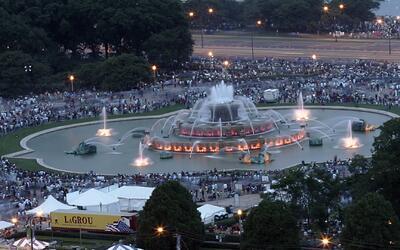 A los 90 años llegó la Fuente de Buckingham de Chicago y se celebrará co...