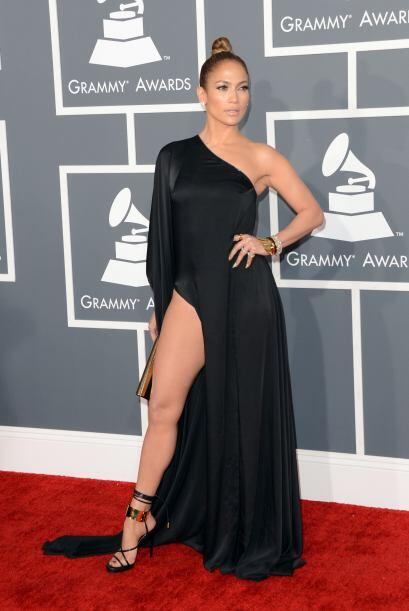 Por poco y nos perdíamos de todo el espectáculo cuando Jennifer Lopez de...