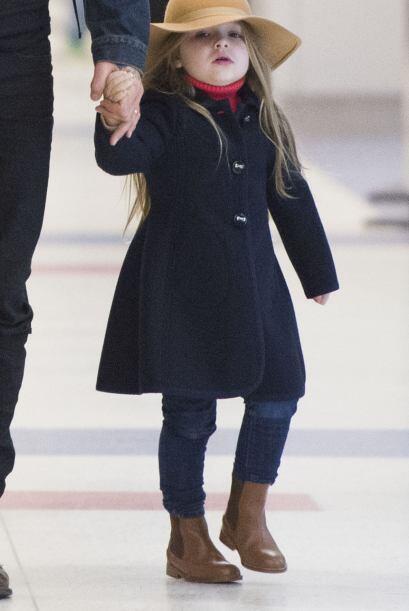 La más pequeña de los Beckham siempre viste al último grito de la moda.
