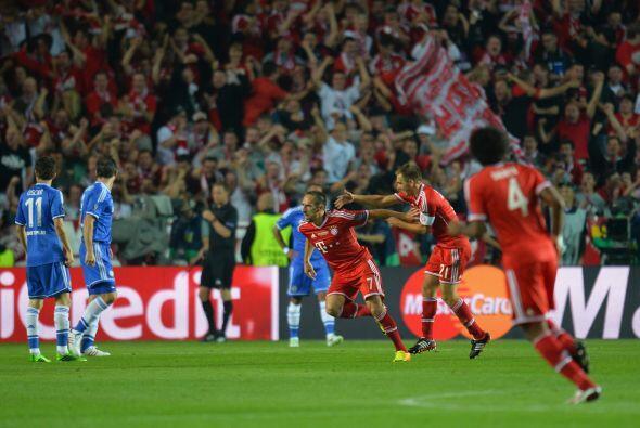 El Bayern remontaba pronto y ganaba confianza en el segundo tiempo.