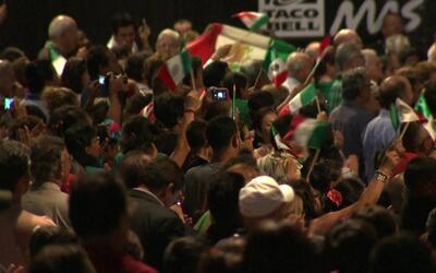 Así se vivió la celebración de 'el grito' de independencia de México en...