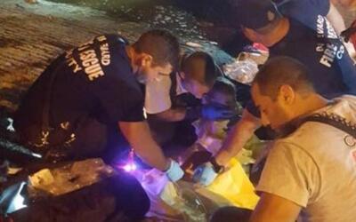 Rescatan a bebé de 23 meses que sobrevivió una hora en una embarcación h...