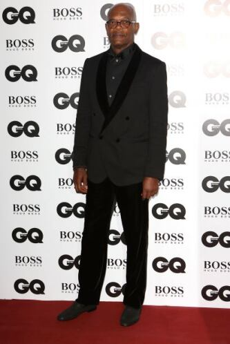 Samuel L Jackson es el claro ejemplo de cómo deben vestir los caballeros...