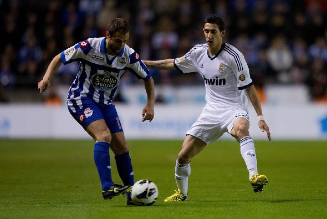 Por momentos el Deportivo fue más que el Madrid, que no encontraba forma...