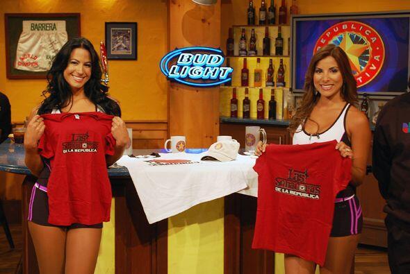 Nuestras Senadoras mostrando los productos de la tienda de Univision.com.