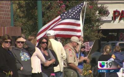 Homenaje a oficiales caídos en Sacramento