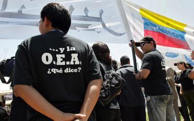 El secretario general de la OEA dio a conocer la medida este martes.