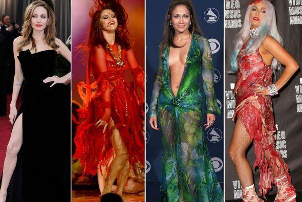 Estas vestimentas han causado escándalos y controversias, logrand...