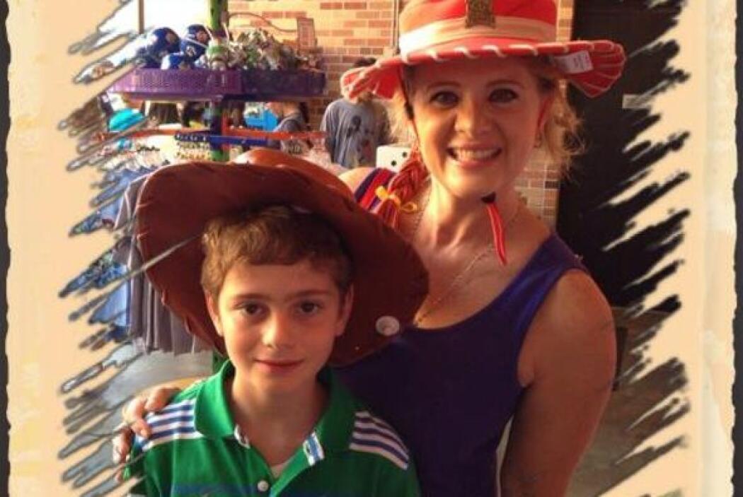 """La actriz tiene """"Amores Verdaderos"""" con su hijo Nicolás."""