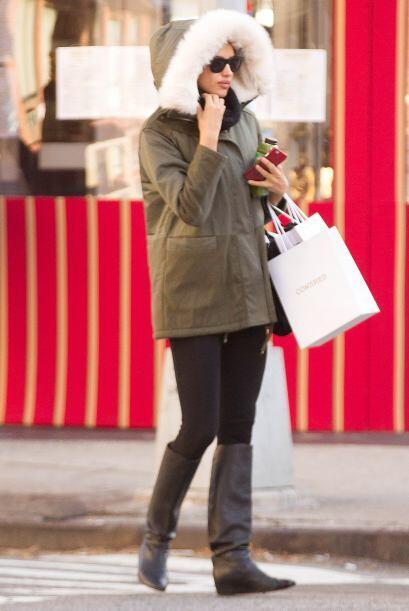 Irina Shayk es una de las famosas que le es fiel a este estilo.