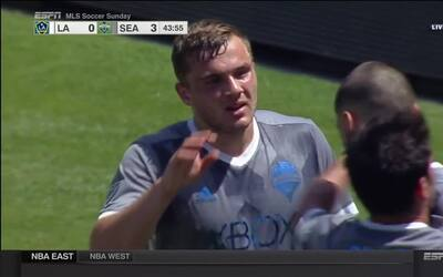 Jordan Morris sella un primer tiempo brillante de Seattle Sounders