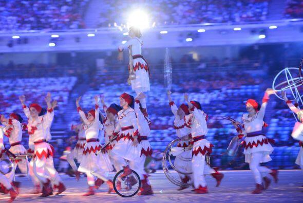 En la que los acróbatas sorprendieron a Sochi.