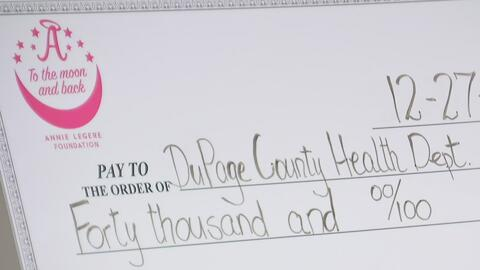 Fundación Annie Legere dona 40,000 dólares en inyecciones de Epipen al D...