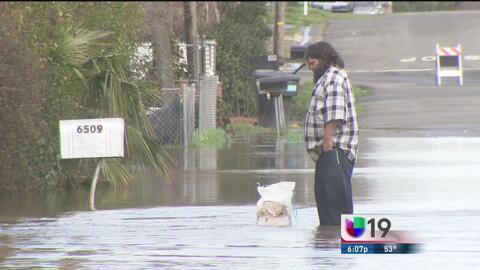 Aumento en niveles de río Linda preocupa a residentes