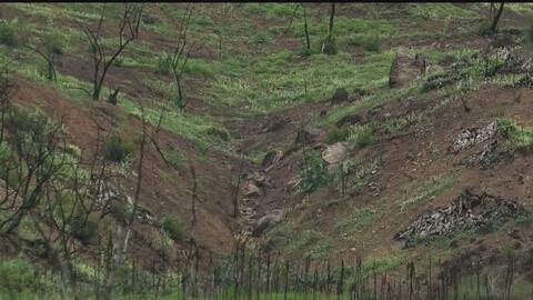 Al menos 180 familias tuvieron que ser evacuadas de Duarte por temor a d...