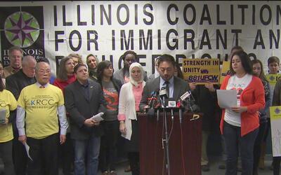 Continúan convocando en Chicago una movilización masiva contra la posesi...