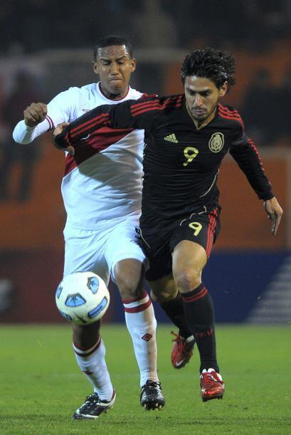 Rafael Márquez Lugo, único delantero nominal, estaba muy l...