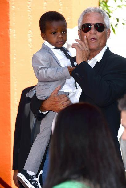No podía faltar su hijo Louis.