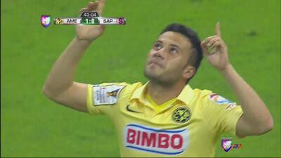 'Chepe' Guerrero anota el primero del América contra Saprissa