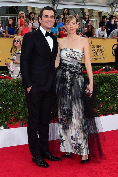 Ty Burrell de 'Modern Family' y su esposa Holly.