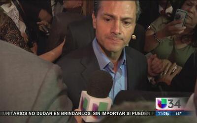 Peña Nieto elogió postura migratoria de CA