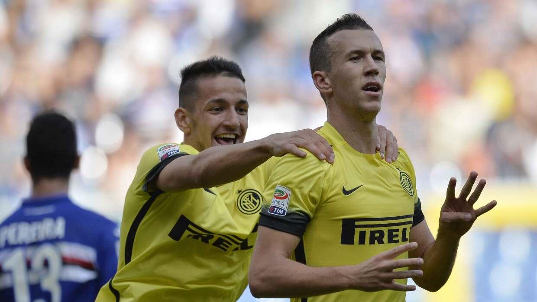 Inter salvó un punto en casa de Sampdoria