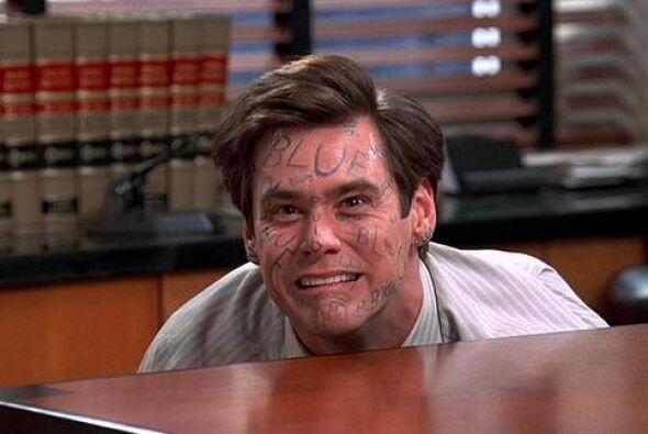 Y Jim Carrey seguía sufriendo.