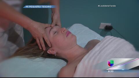 Milly Méndez explora los beneficios de masajes durante el embarazo