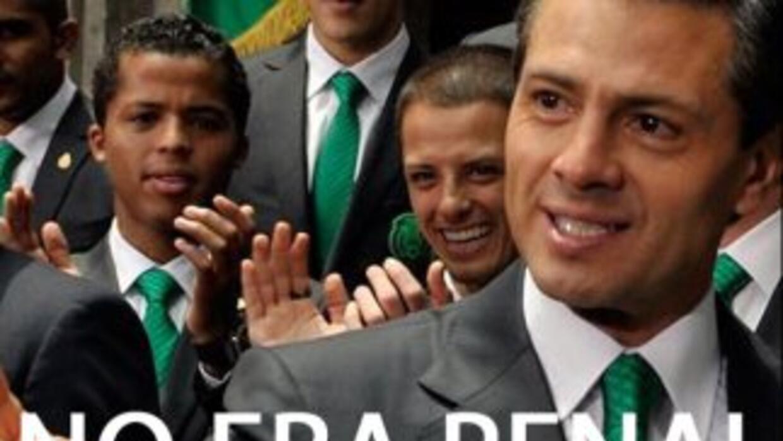 La imagen compartida por el mandatario mexicano en redes sociales.