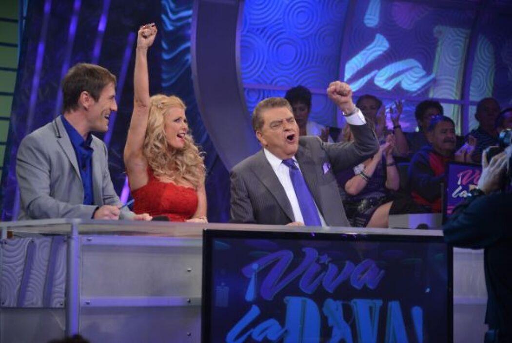 Durante la participación de Marisa, el jurado se mostró emocionado, seña...