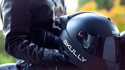 El Skully P1 es el casco del futuro. Foto: Skully Helmets Inc.