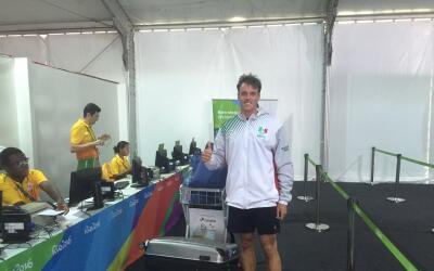 Mexicano en la villa olímpica