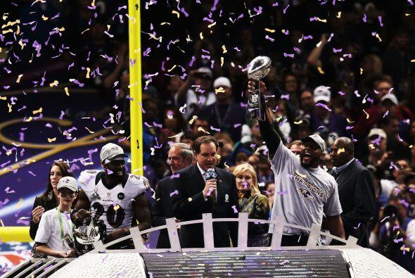 ¡Ravens, campeones del Super Bowl XLVII!