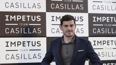 Iker Casillas no oculta su deseo por que el Real Madrid gane la Champions.