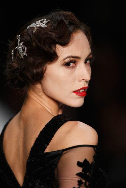 ¿Qué tal un 'look' muy al estilo 'The Great Gatsby'? No puede negar que...