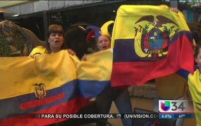 Ecuador quedó fuera del mundial en Brasil