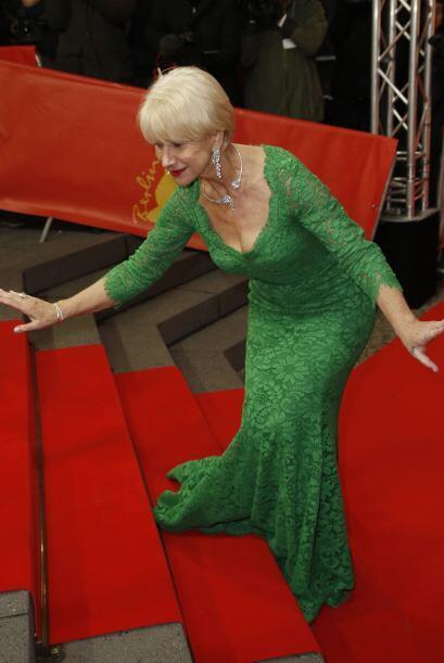 Pero a la legendaria actriz se le movió la alfombra.