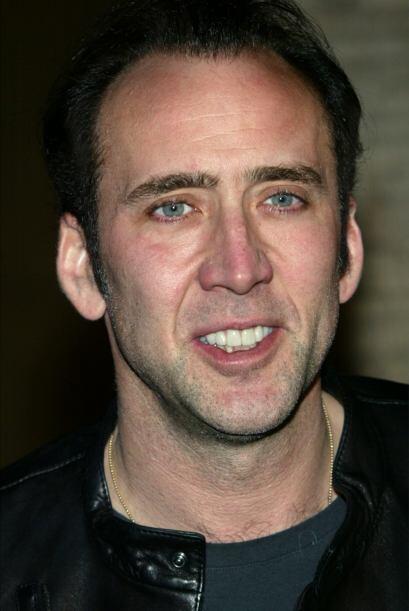Nicolas Cage era un  famoso de Holllywood con horrenda sonrisa. Poco a p...
