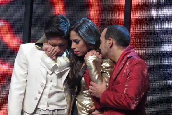 Mientras, Fernando, Virginia y José sufrían en el pared&oa...