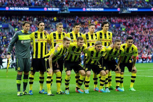 Borussia Dortmund, sin su estrella Gotze, iba a por la sorpresa.