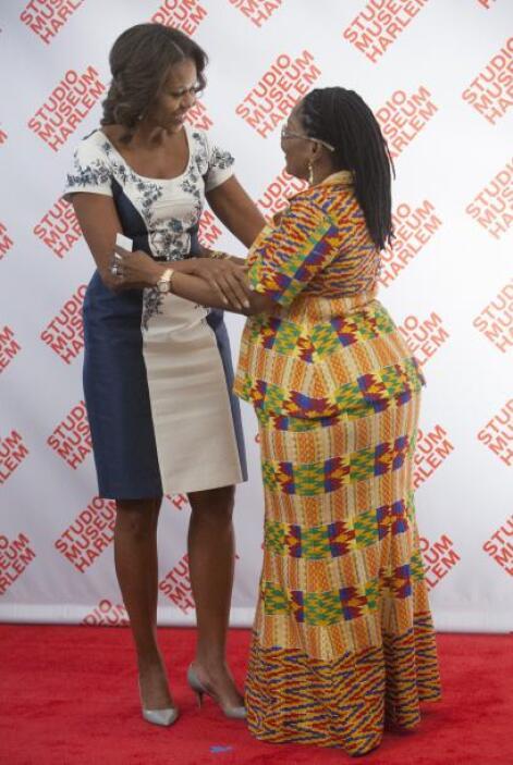 A diferencia de Lordina Mahama, la primera dana de Ghana, quien optó por...