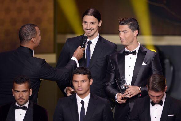 Fue el turno para que el cuestionado pasara a ser Zlatan Ibrahimovic.